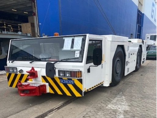 Tractor on the Move: RoRo Shipment