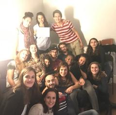 Un groupe d'étudiants M2 Action et Droit Humanitaires 2016-2017 de passage à Paris
