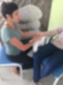 massage accompagnement patient