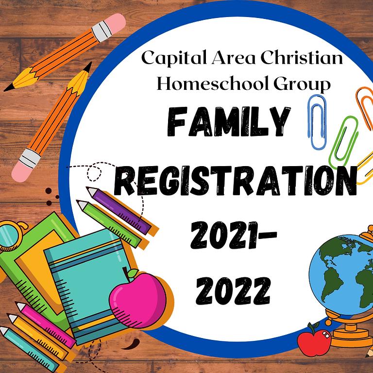 "2021-2022 ""SOCIAL-ONLY"" Registration"
