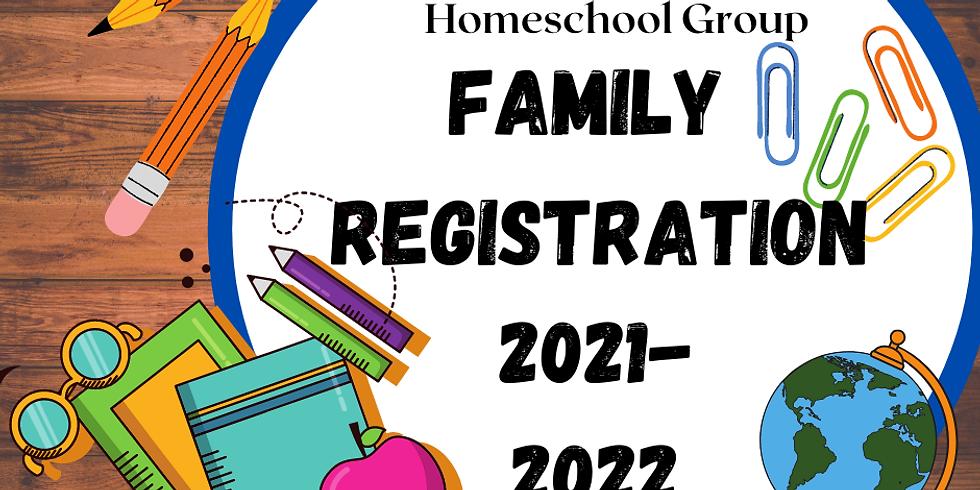 CACHG 2021-2022 Family Registration