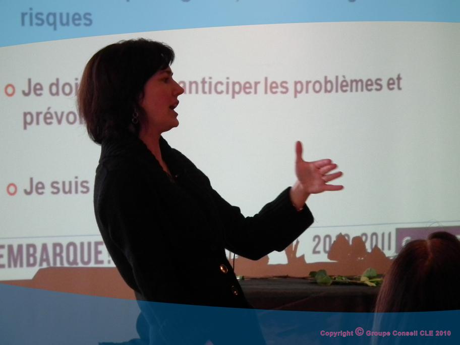 Kathryn Peterson pour le Groupe CLE