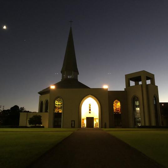 chapel w_ moon