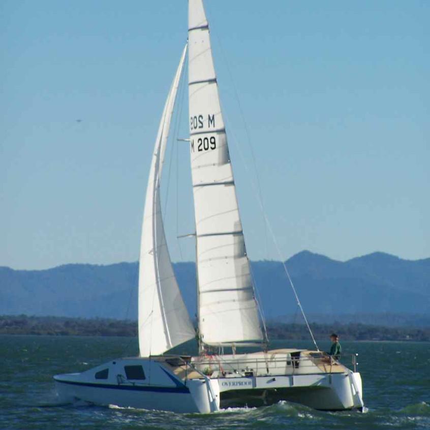 Overproof under sail