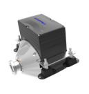 Electric boat motor, This shaft drive electric boat motor when used in a yacht can provide power when sailing. Betts Boat Electrics are authorised installers for Oceanvolt systems .png