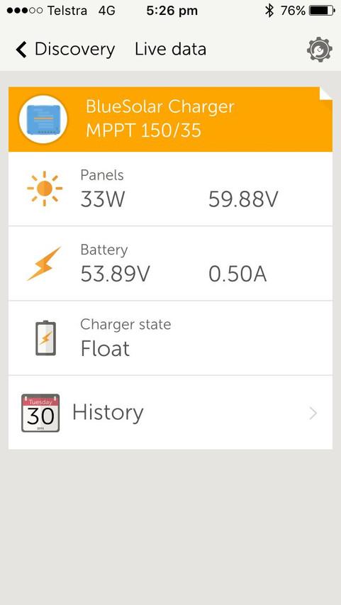 Phone app for regulator