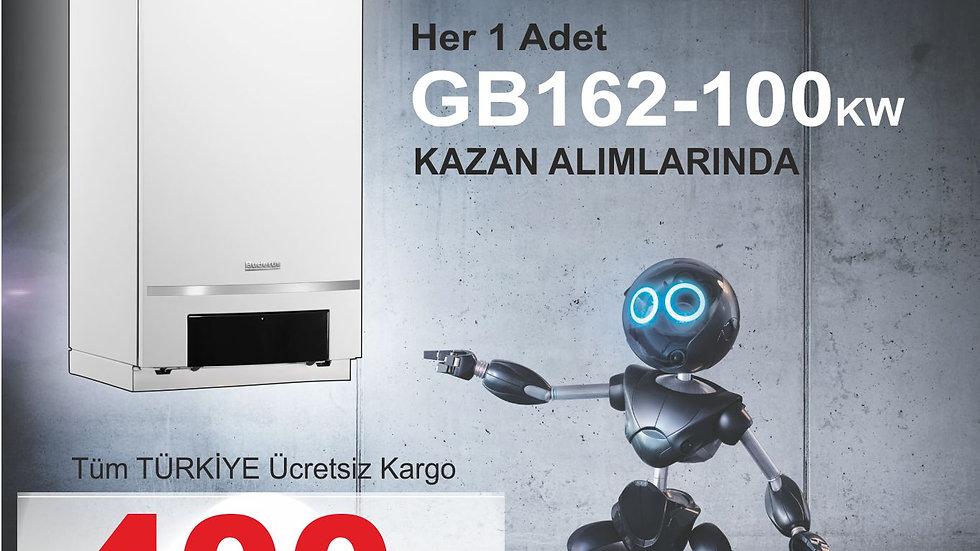 Buderus Gb162-100 kw Duvar tipi yoğuşmalı kazan