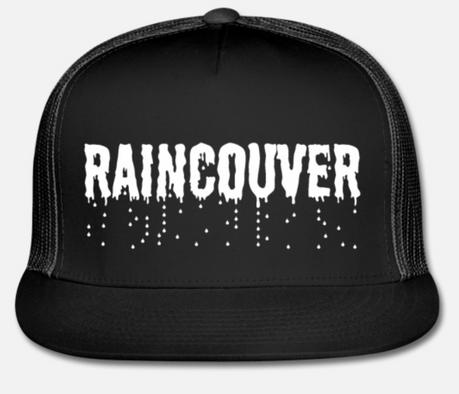 Raincouver Vancouver truckers cap