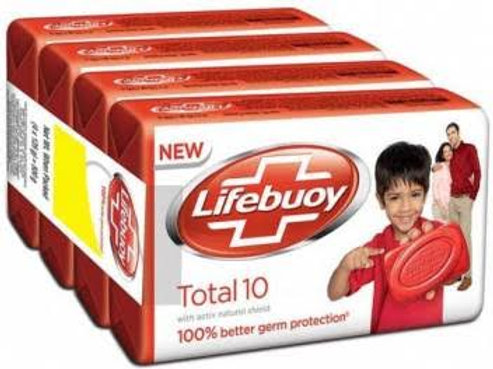 Lifebuoy Total Soap Bar, 59gm x 4