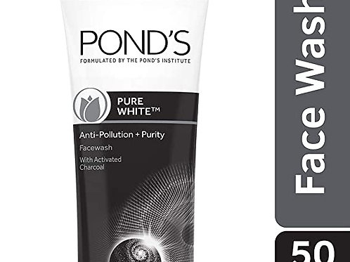 Pond's Pure White Anti Pllution Face Wash 50 g