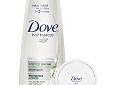 Dove hair therapy dryness Shampoo, 340ml