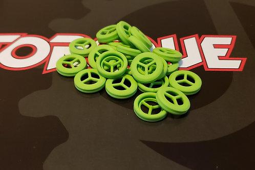 J4 Torque Bolt Tip, Green - 3 pack