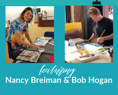 Non-traditional Galleries and Marketing Through Collaboration with Nancy Breiman and Bob Hogan