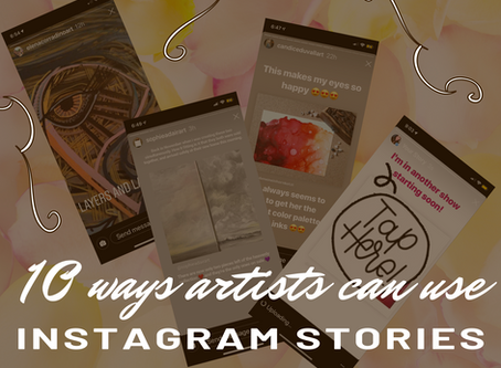 10 ways artists can use Instagram Stories