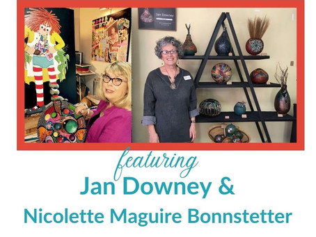 Gourds, Vantias/Vanitas, and Lifelong Learning with Jan Downey and Nicolette Maguire Bonnstetter
