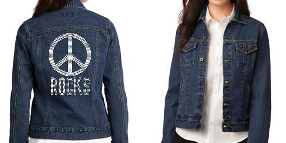 Peace Rocks Denim Jacket
