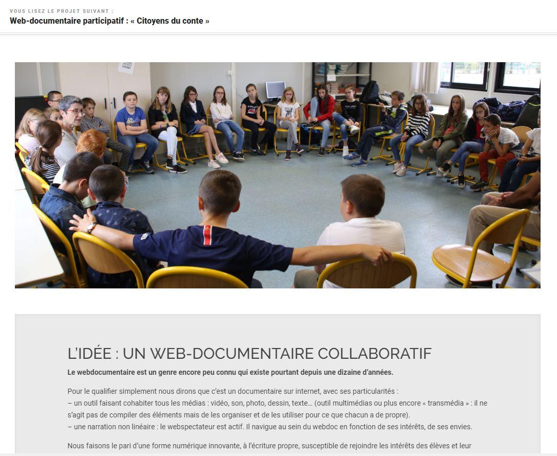 Article de l'association Report'Cité