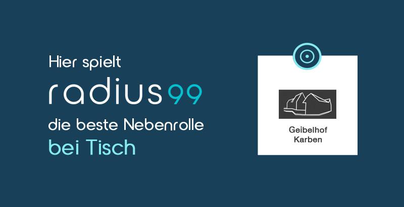 radius99 zu Gast auf dem Geibelhof
