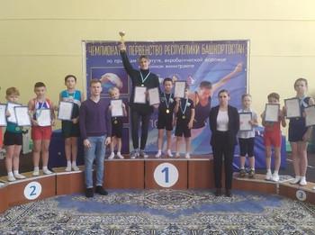 Открытое первенство города и командное первенство Республики Башкортостан по прыжкам на батуте
