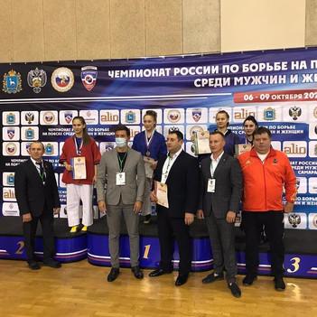 Чемпионат России по борьбе на поясах среди мужчин и женщин