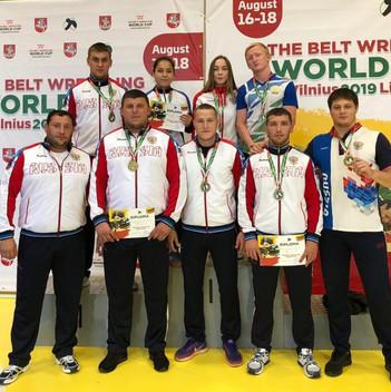 Кубок мира по борьбе на поясах г.Вильнюс (Литва)