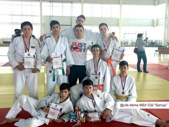Фестиваль Дзюдо среди команд юношей 2003-2004 г.р. на призы Миасской городской спортивной федерации