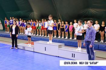 Первенство школы по прыжкам на двойном минитрампе