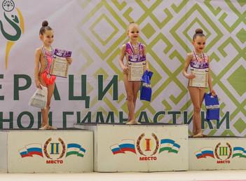 Открытое Первенство Октябрьского района по художественной гимнастике