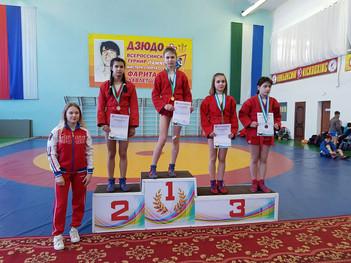 Первенство Республики Башкортостан по самбо среди юношей и девушек 2004-2006 г.р.