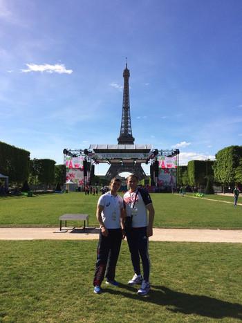 25 мая 2017 года, в столице Франции Париже с успехом состоялся праздник Сабантуй
