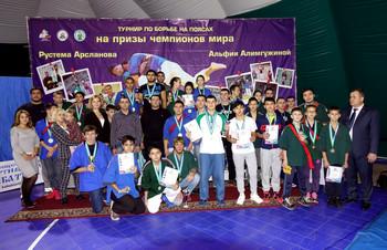 Открытый турнир по борьбе на поясах, на призы Чемпионов мира Рустема Арсланова и Альфии Алимгужино