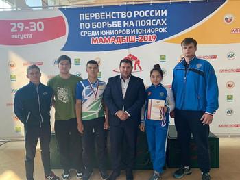 Первенство России по борьбе на поясах, среди юниоров и юниорок 1999 - 2001 г.р.