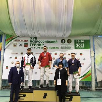 XVII  Всероссийский турнир по борьбе на поясах среди мужчин и женщин
