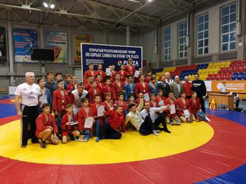 Открытый межрегиональный турнир по самбо среди юношей 2004-2005г.р. на кубок PLAZA памяти ветеранов