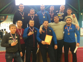 XIII Всероссийского турнира по борьбе на поясах памяти заслуженных тренеров России Мягаса Сахабутдин