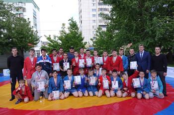 г.Уфа-Спортивные состязания по борьбе самбо