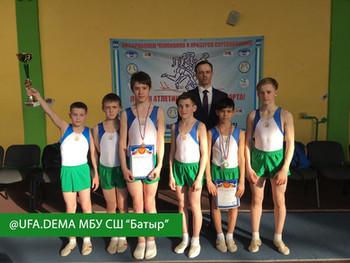 Командное первенстве Республики Башкортостан по прыжкам на батуте, двойном минитрампе и акробатическ