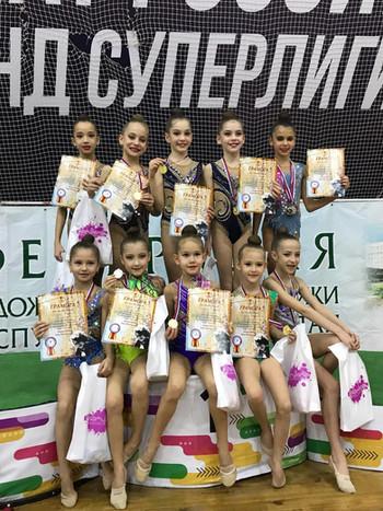 Городской турнир по художественной гимнастике, посвящённый памяти тренера Кутдусовой Р.М.