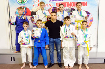 Первенство по дзюдо среди юношей 2008-2009 г.р.