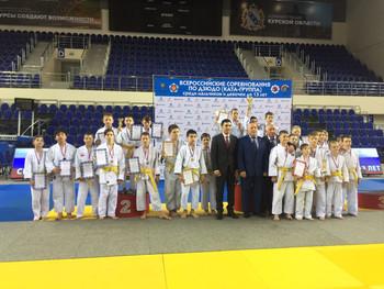 Всероссийские соревнования (Первенсвто России) по дзюдо среди юношей и девушек (КАТА-группа) до 13 л
