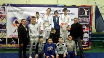 Первенство Республики Башкортостан по дзюдо среди юношей и девушек 2003-2004 г.р.