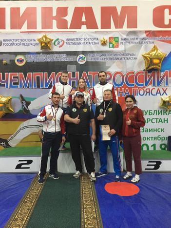 Чемпионат России по борьбе на поясах (г.Заинск Татарстан)
