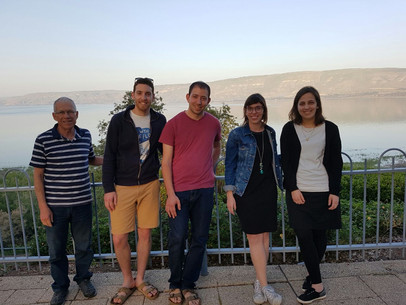 Having fun at the Kinneret