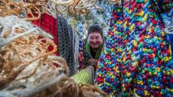 Molly Rhodin Knitting