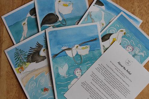 Mermaid Sustainability Cards
