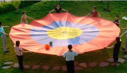 Bulls-Eye Parachute