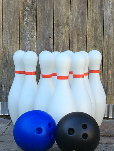 Giant Indoor Ten Pin Bowls