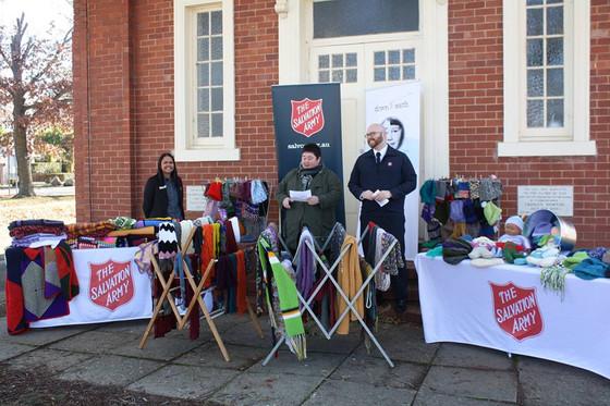 'A close 'knit' community'
