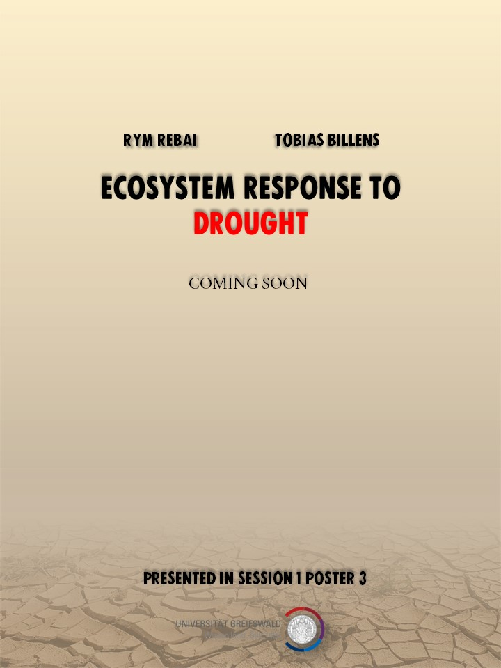 Ecosystem responses to drought