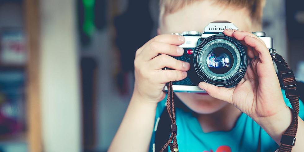 Les photographes en herbe (atelier pour les 6 à 12 ans)